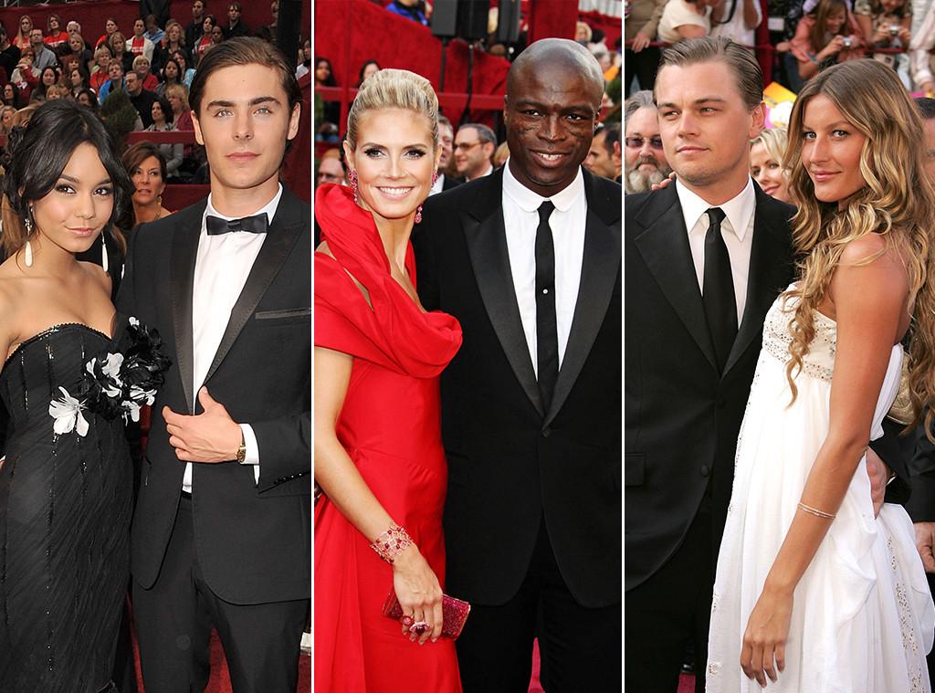 Leonardo DiCaprio, Gisele Bundchen, Heidi Klum, Seal, Zac Efron, Vanessa Hudgens, Oscars Couples
