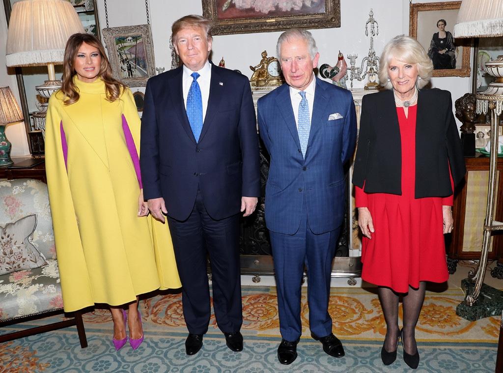 Melania Trump, Donald Trump, Prince Charles, Camilla Duchess of Cornwall