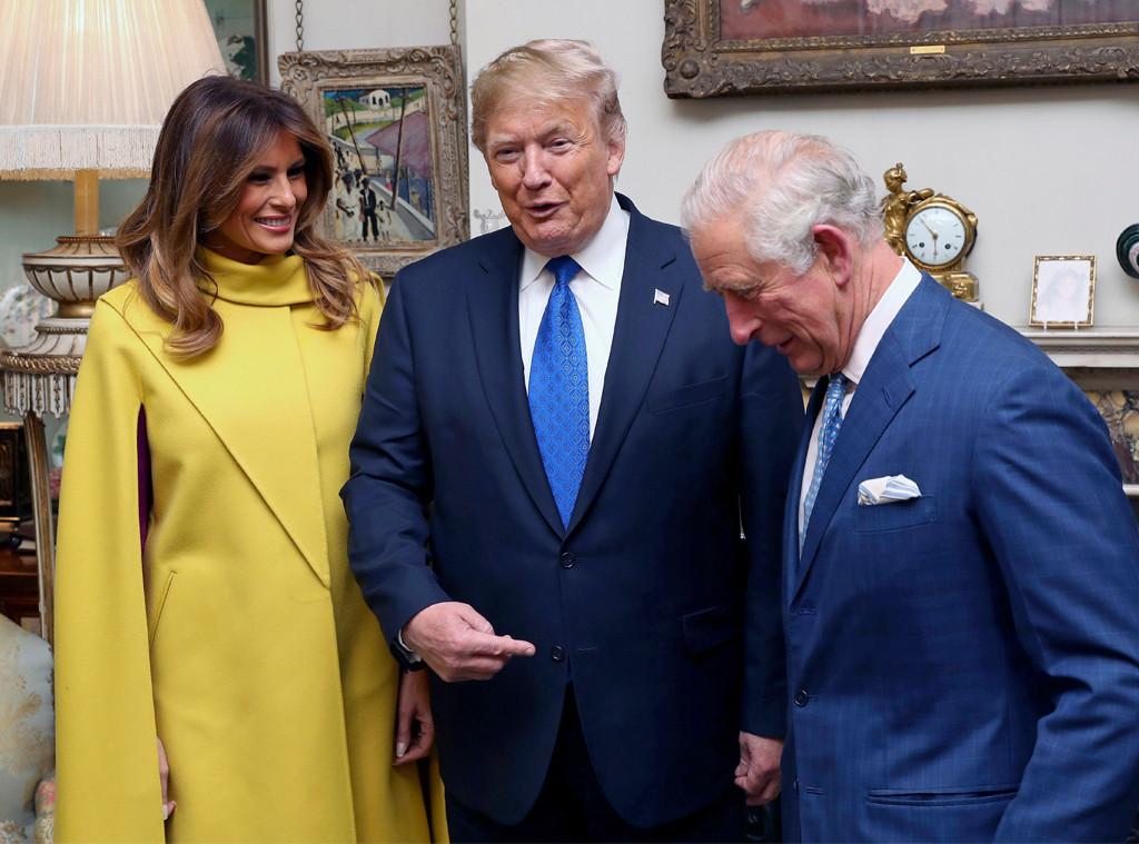 Melania Trump, Donald Trump, Prince Charles