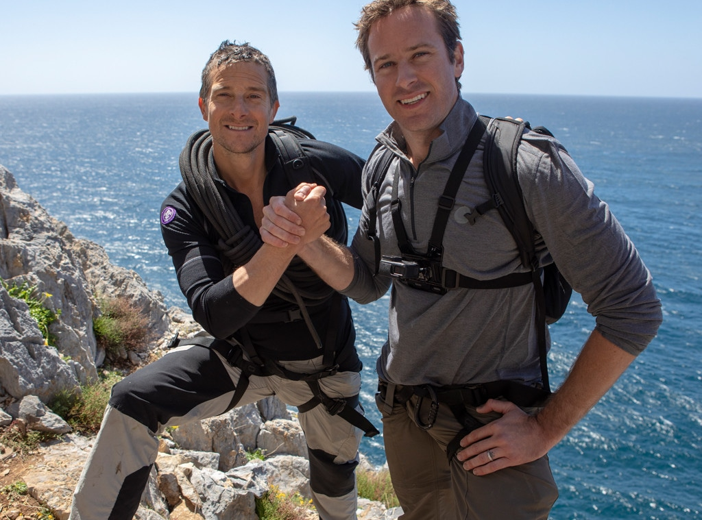 Bear Grylls, Armie Hammer, Running Wild With Bear Grylls