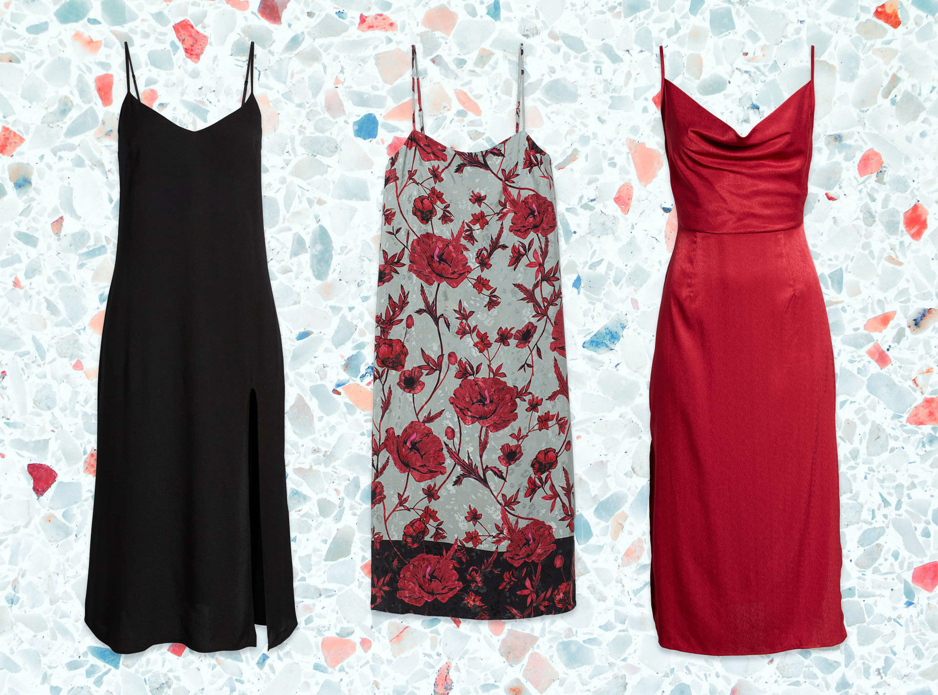 E-Comm: Shop the Winter Slip Dress Trend