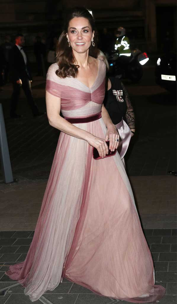 Kate Middleton Is A Vision In Pink At The 100 Women In