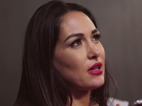 See Brie Bella Get Emotional After Accidentally Kicking a WWE Competitor in the Ring