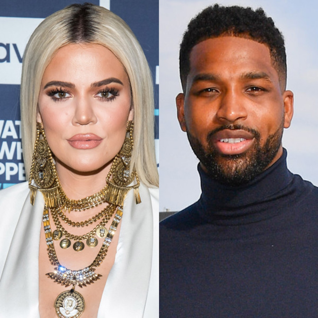Khloe Kardashian Celebrates Fourth of July at Tristan Thompson's House - E! NEWS thumbnail