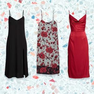 E-Comm: Shop the Winter Slip Dress Trend