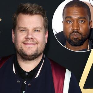 James Corden, Kanye West