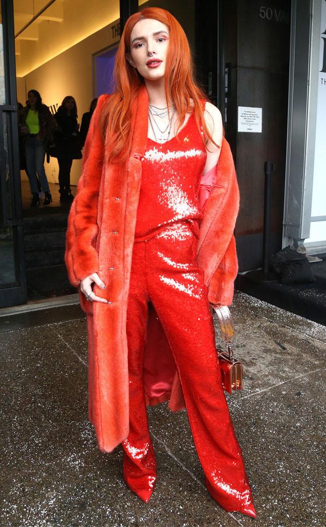 Bella Thorne, New York Fashion Week 2019