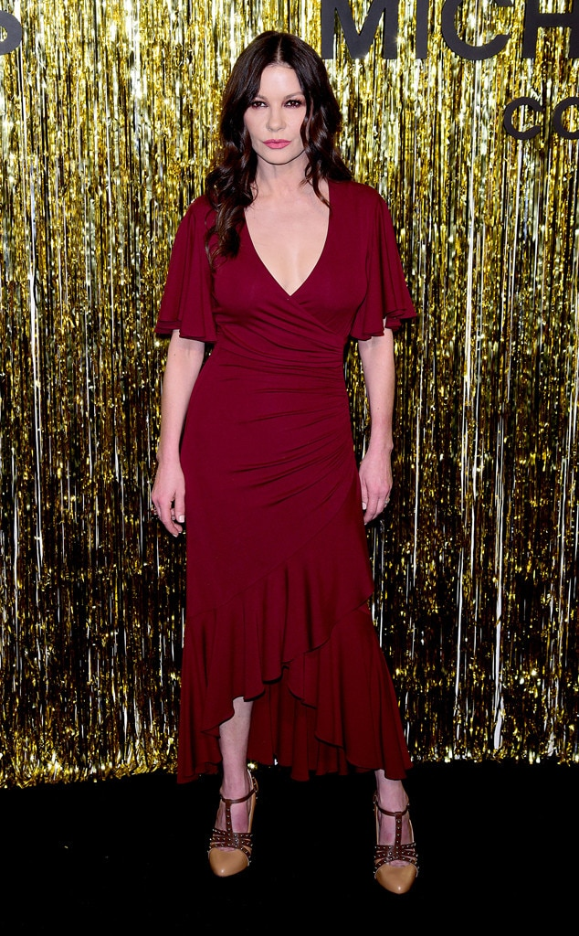 Catherine Zeta-Jones -  Attended the Michael Kors Collection show on Feb. 13, 2019.