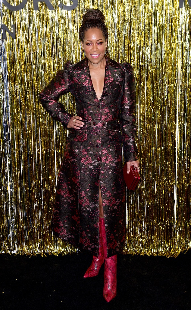 Regina King -  Attended the Michael Kors Collection show on Feb. 13, 2019.