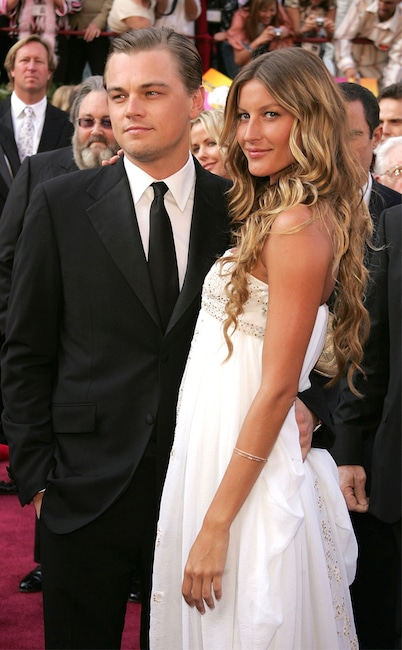 Leonardo DiCaprio, Gisele Bundchen, Oscars Couples