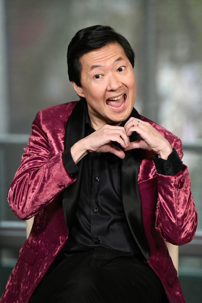 Ken Jeong -  Hearts on hearts!