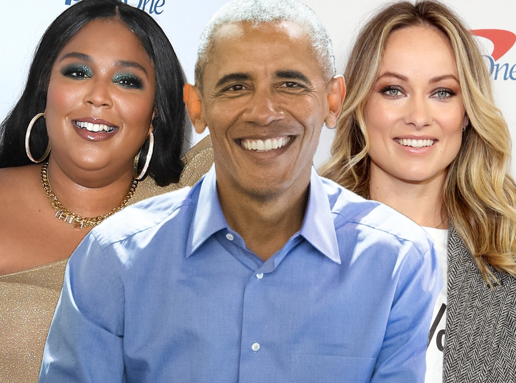 Lizzo, Barack Obama, Olivia Wilde
