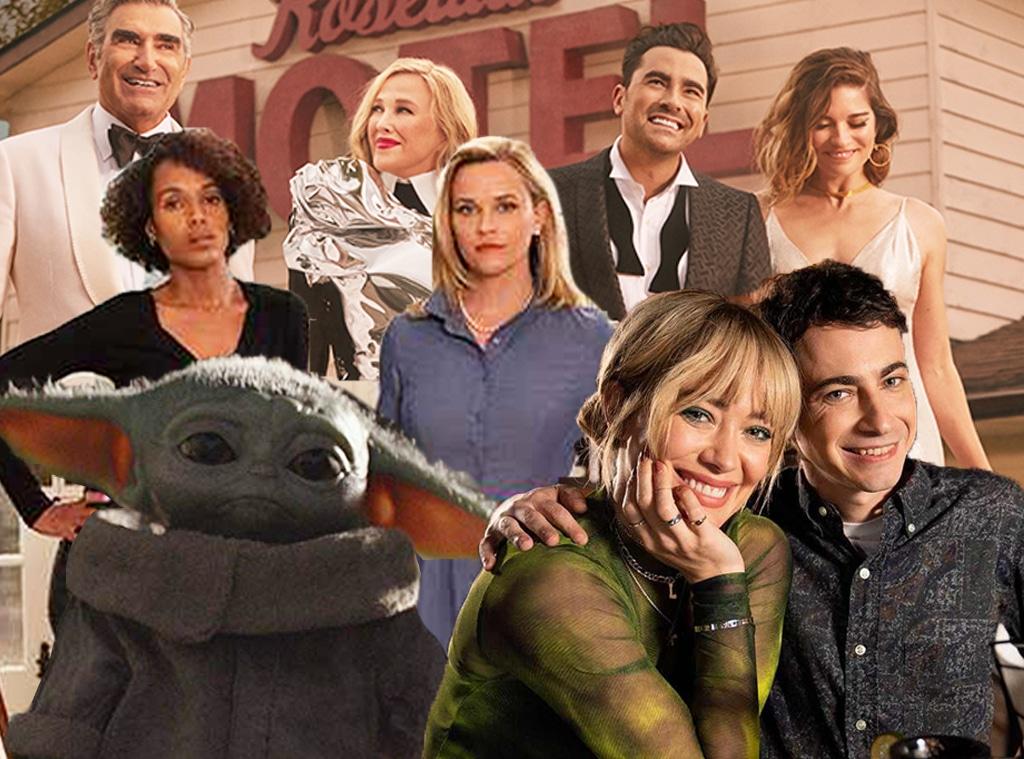TV events -- Little Fires Everywhere, Baby Yoda, Schitt's Creek, Lizzie McGuire