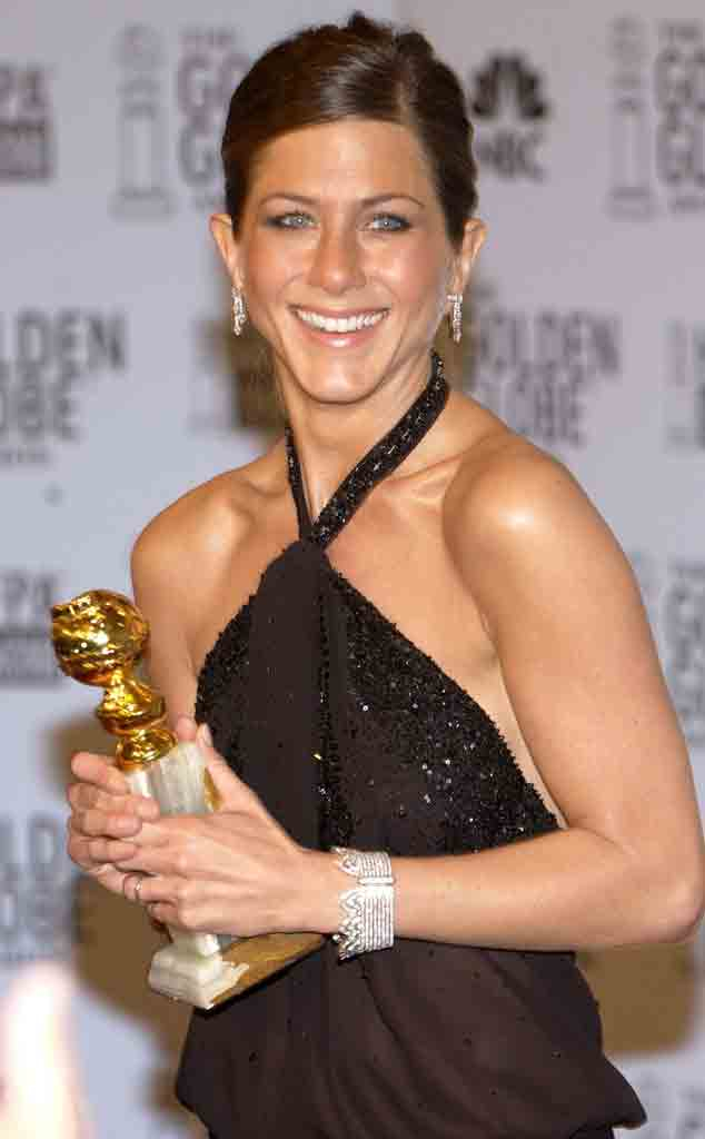 Jennifer Aniston, 2003 Golden Globes