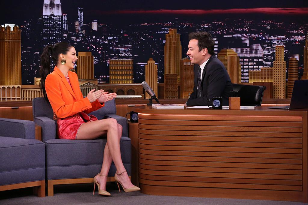 Kendall Jenner, Jimmy Fallon, The Tonight Show