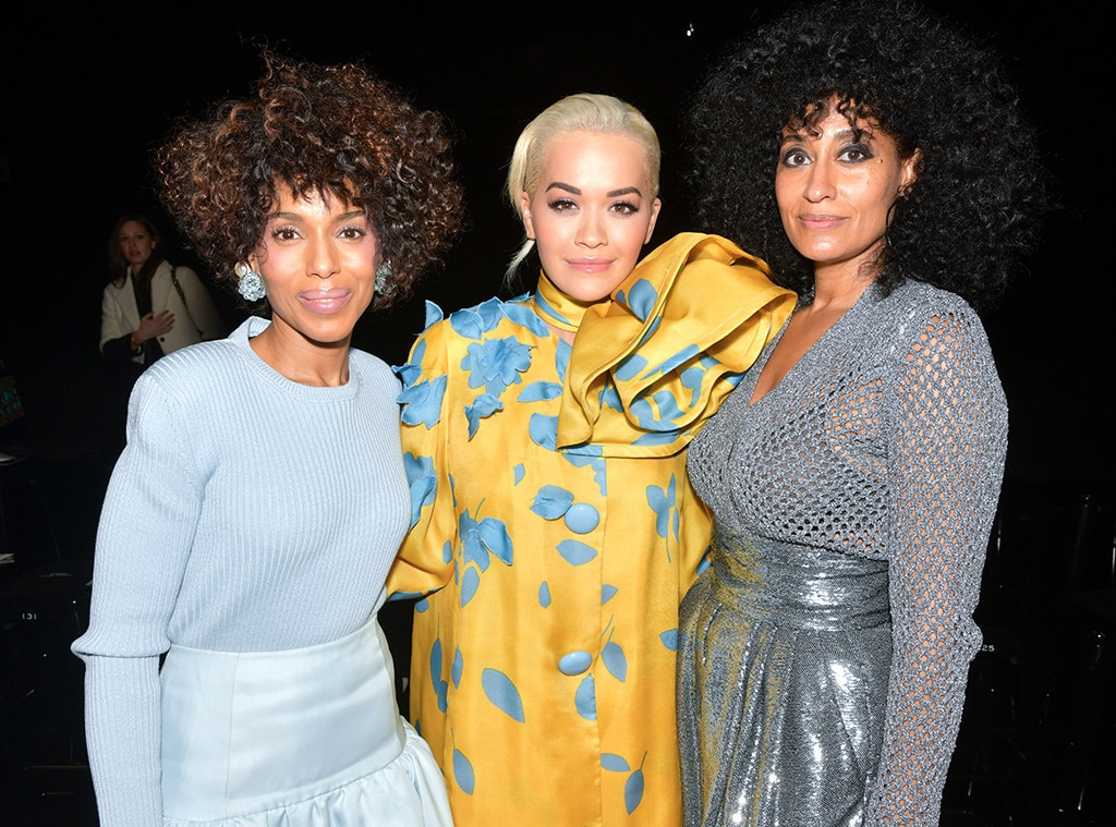 Kerry Washington, Rita Ora & Tracee Ellis Ross -  Attended the Marc Jacobs show on Feb. 13, 2019.
