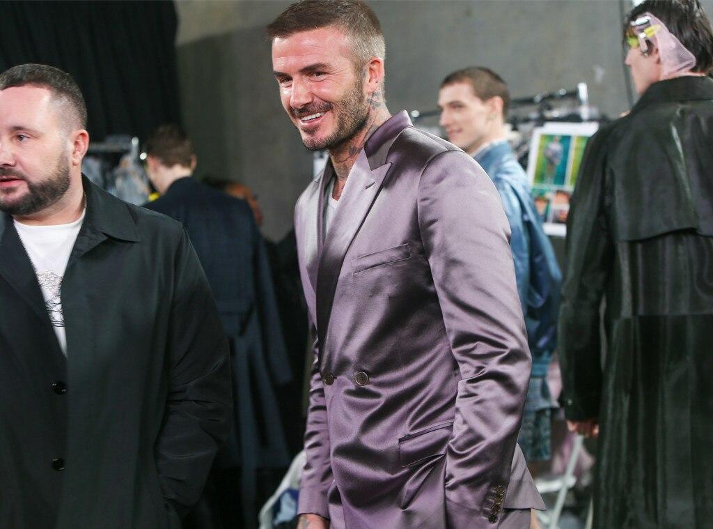 David Beckham, Dior Men's Show, Pre-Fall 2020