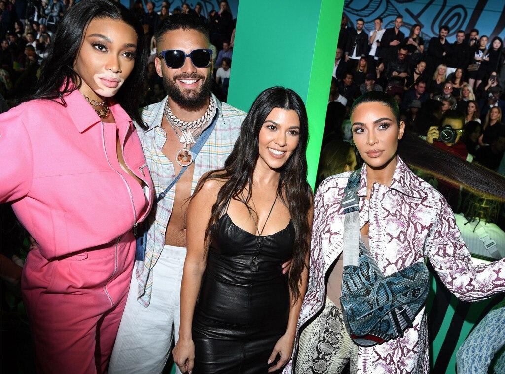 Winnie Harlow, Maluma, Kourtney Kardashian, Kim Kardashian West, Dior Men's Show, Pre-Fall 2020