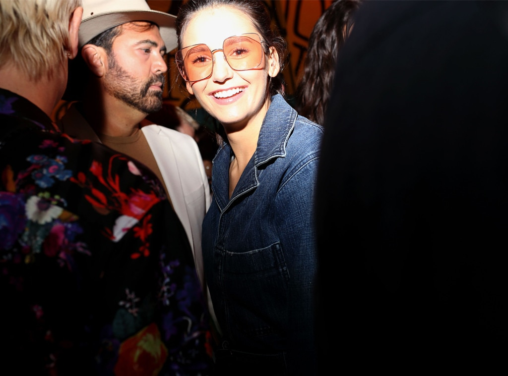 Nina Dobrev, Dior Men's Show, Pre-Fall 2020