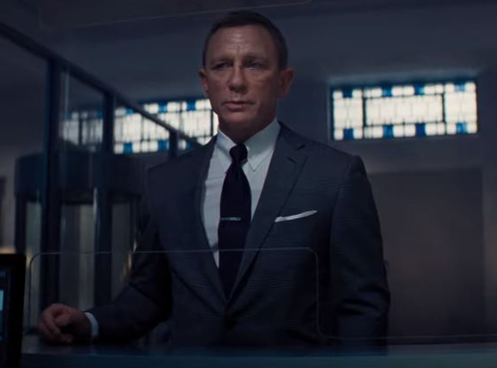 Daniel Craig, No Time To Die Trailer 2019