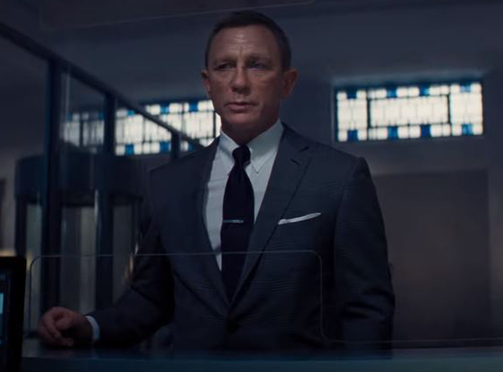 Daniel Craig, <i>No Time To Die</i> Trailer 2019