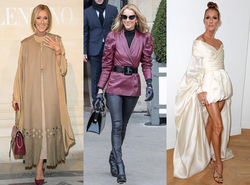 Celine Dion, Paris Fashion Week 2019