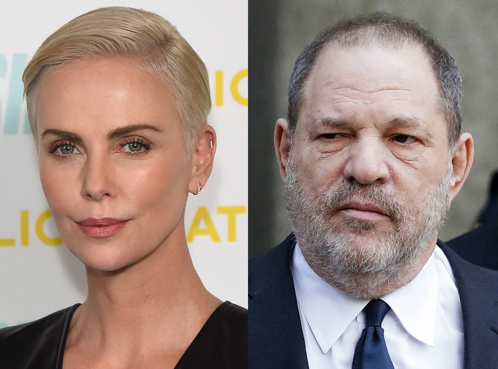 Charlize Theron, Harvey Weinstein