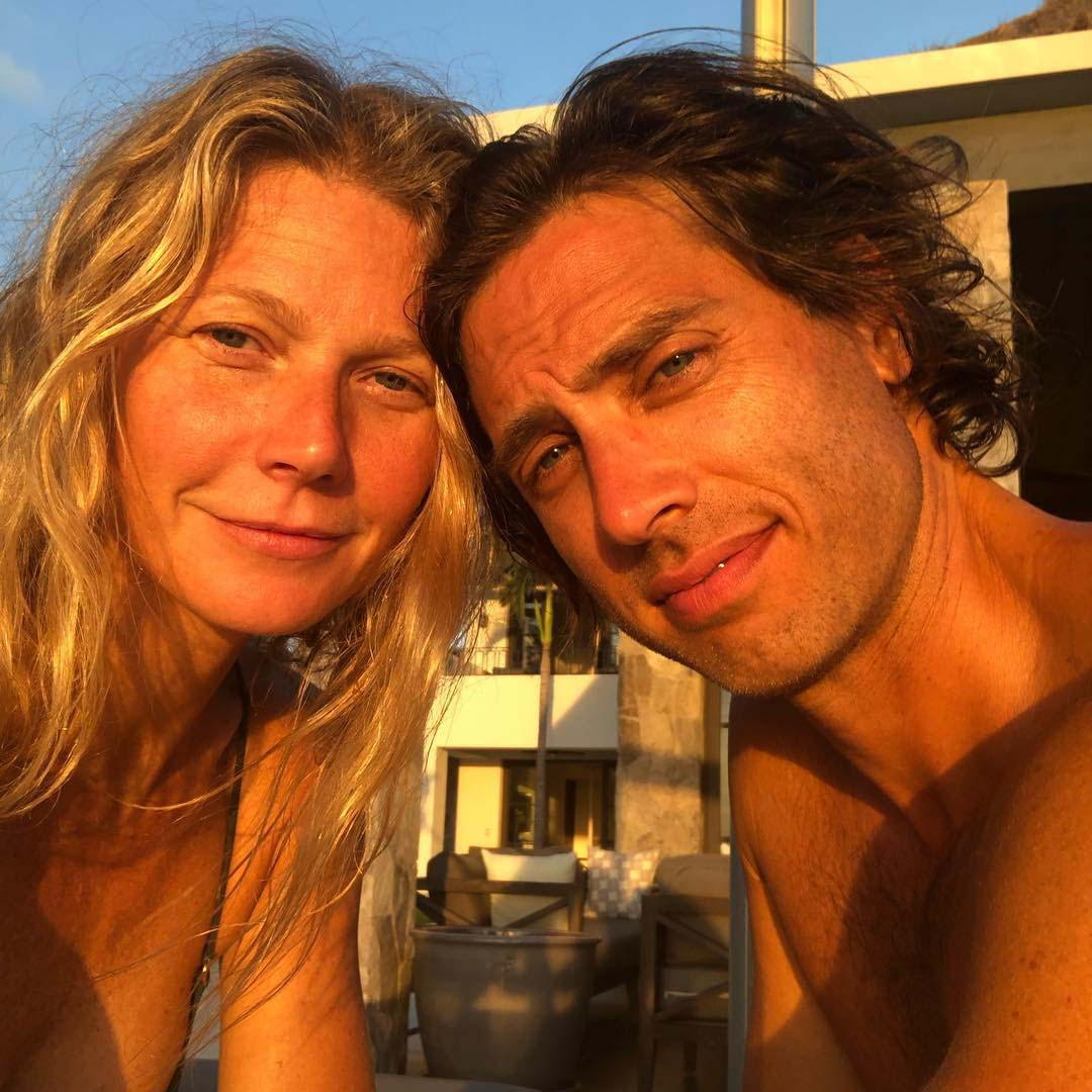 Gwyneth Paltrow, Brad Falchuk, Instagram