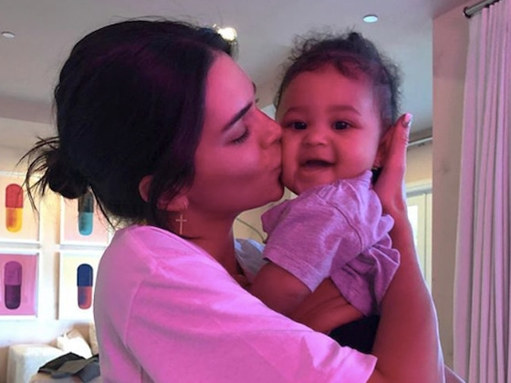 Kylie Jenner's Daughter Stormi Webster Gets a Diamond Gift From Travis Scott