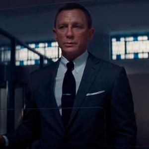 Daniel Craig, <i>No Time To Die</i> Trailer 2019