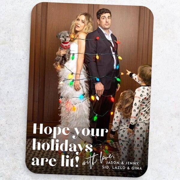 Jason Biggs, Jenny Mollen, Holiday Cards 2019