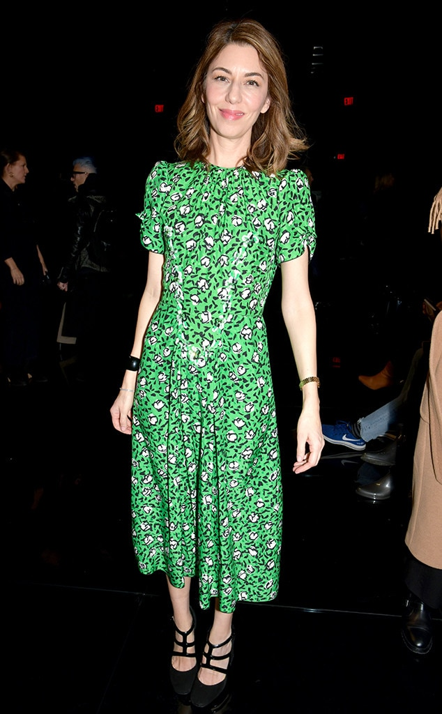 Sofia Coppola -  Attended the Marc Jacobs show on Feb. 13, 2019.