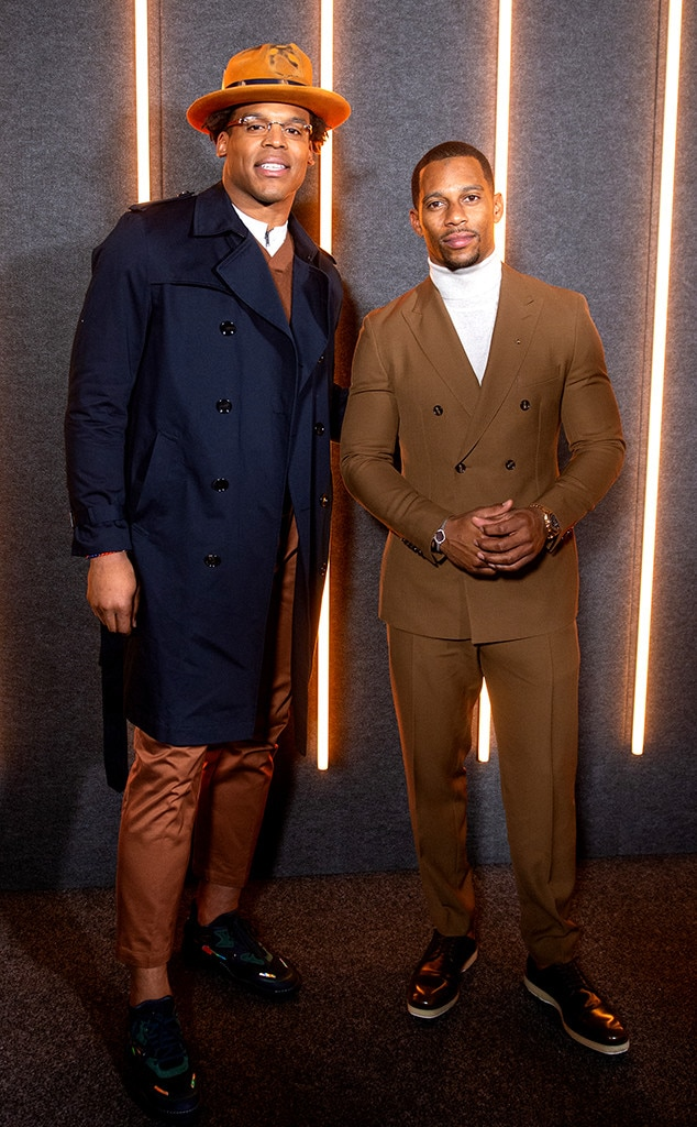 Cam Newton & Victor Cruz -  Attended the Boss show on Feb. 13, 2019.