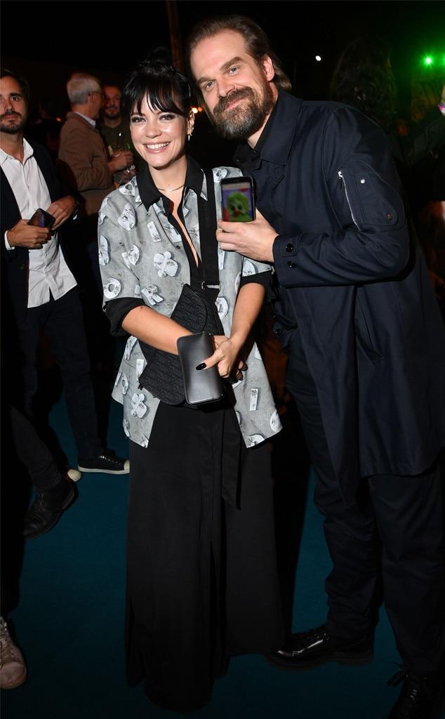 Lily Allen, David Harbour, Dior Men's Show, Pre-Fall 2020