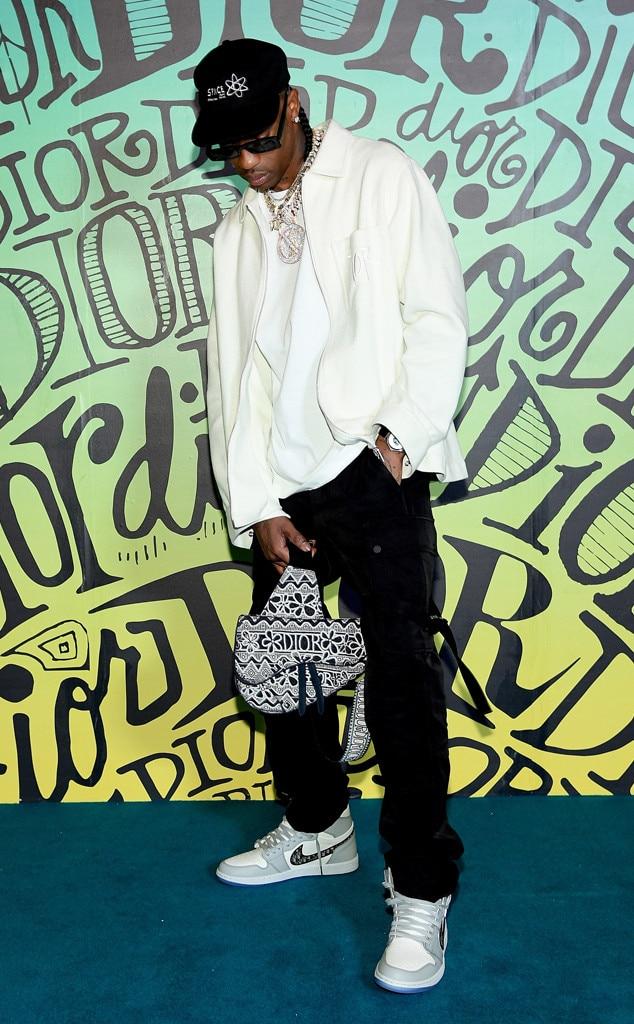 Travis Scott, Dior Men's Show, Pre-Fall 2020