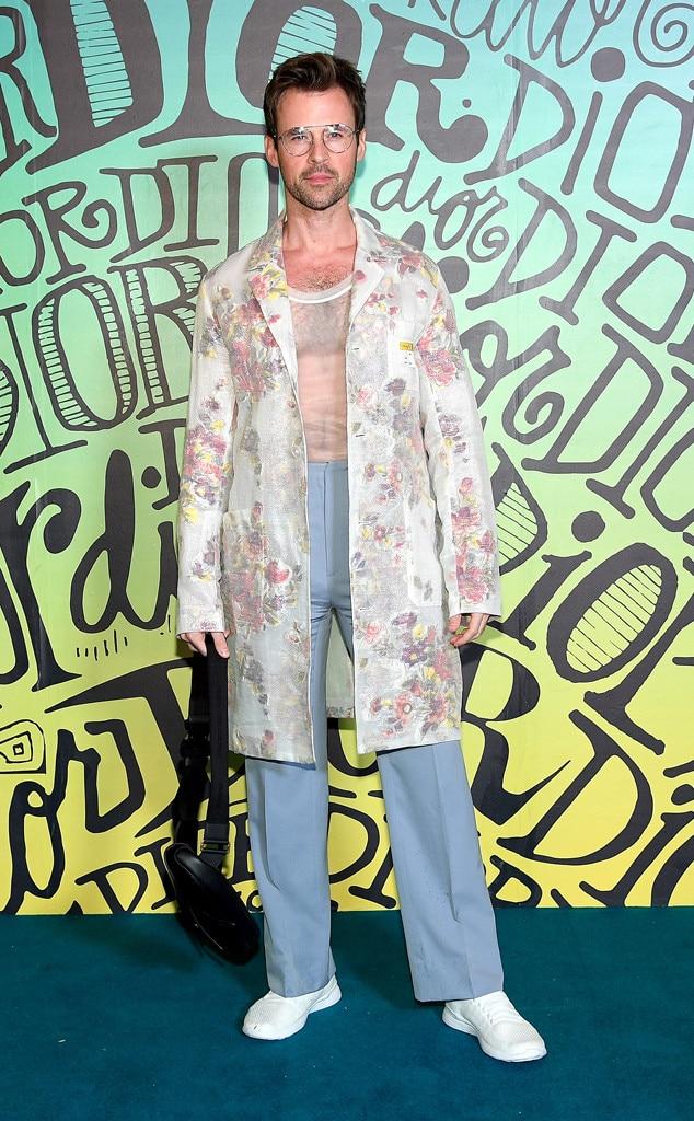 Brad Goreski, Dior Men's Show, Pre-Fall 2020