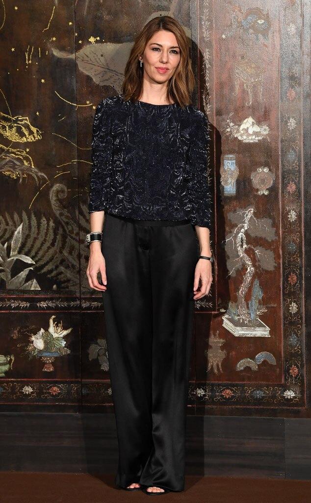 Sofia Coppola, 2019 Chanel Metiers d'Art Fashion Show