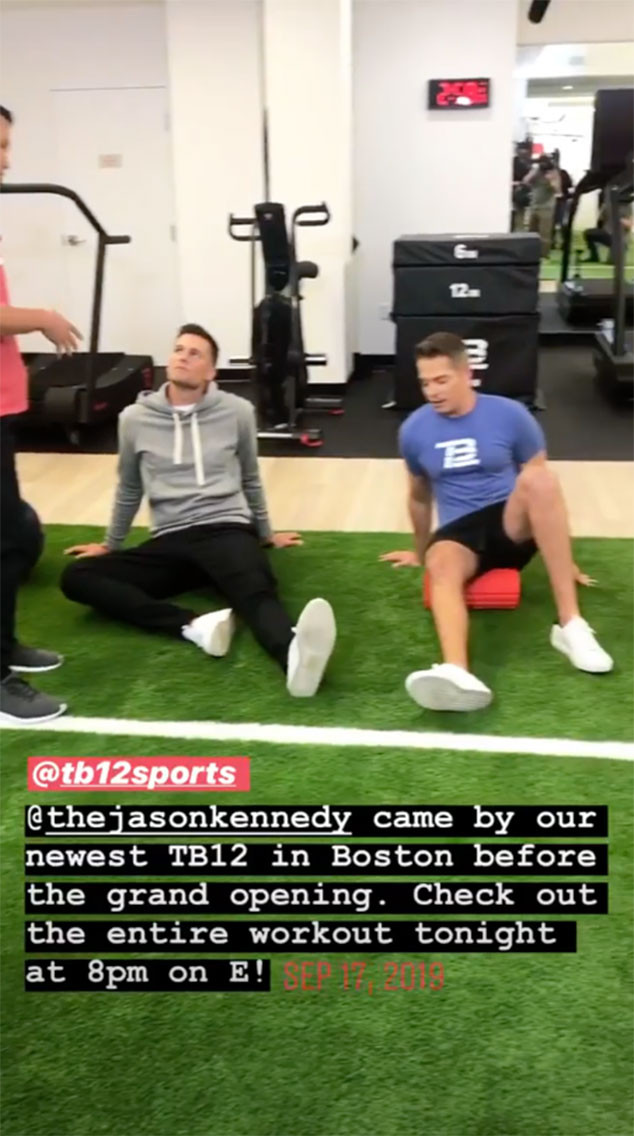 Tom Brady, Jason Kennedy