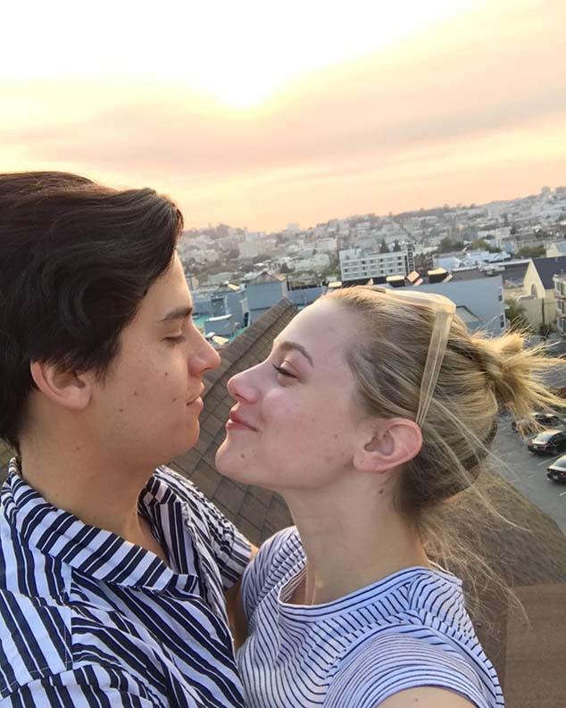 Cole Sprouse, Lili Reinhart, Instagram