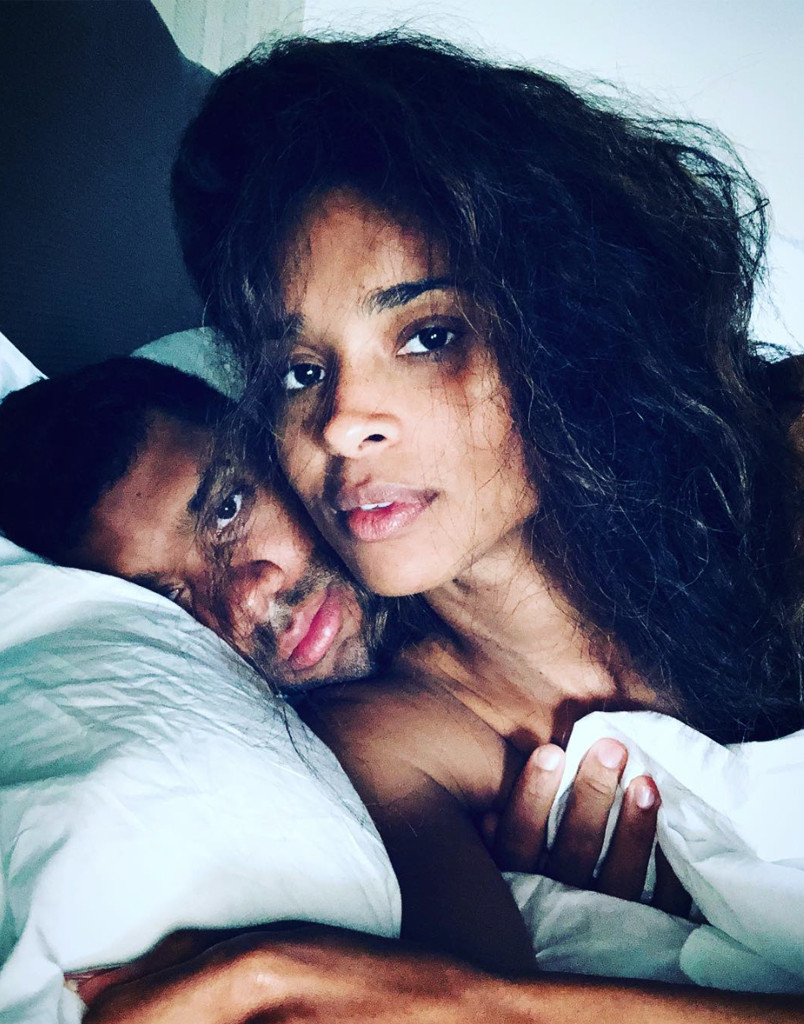 Russell Wilson, Ciara, Celeb Valentine's Day