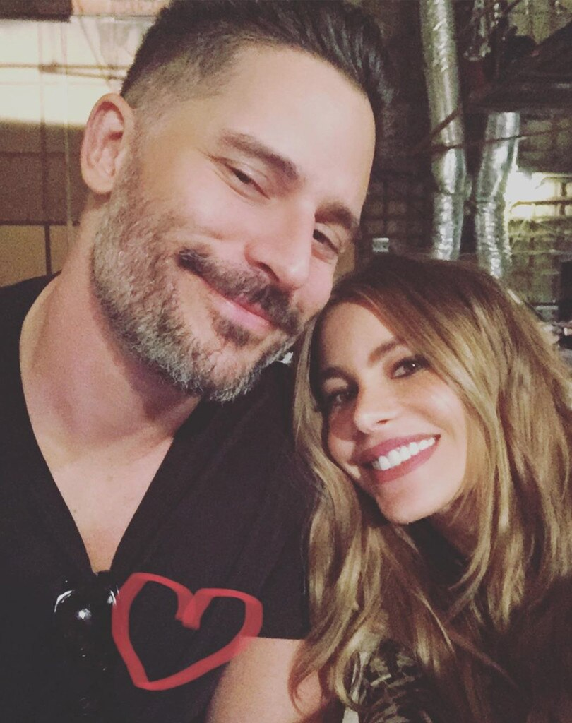 "Joe Manganiello & Sofia Vergara -  ""I adoooreee u @joemanganiello,"" the  Modern Family  star shared."
