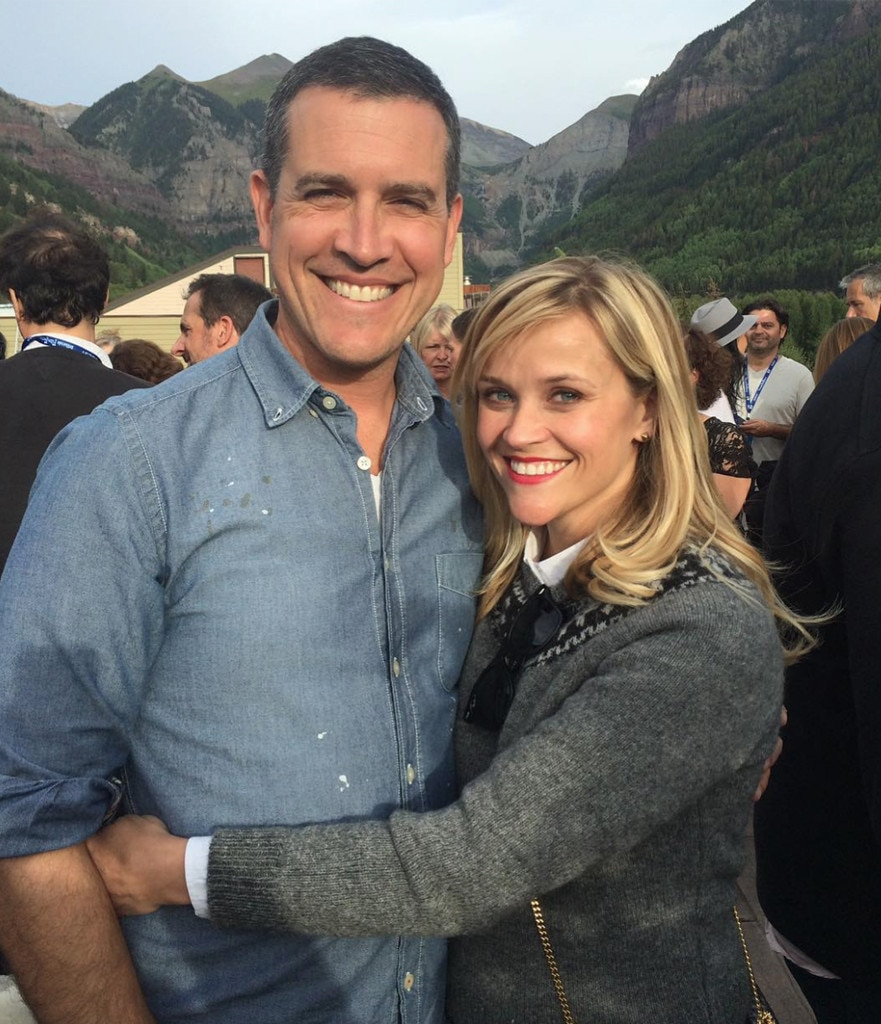 Reese Witherspoon, Jim Toth, Celeb Valentine's Day