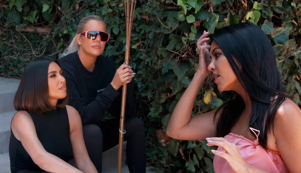 Kim Kardashian, Khloe Kardashian, Kourtney Kardashian, KUWTK 1711