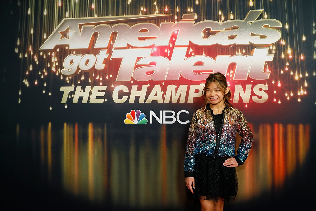 """Angelica Hale -  The singer came in second place in season 12 and dazzled the judges during  The Champions  with her performance of """"Fight Song."""""""