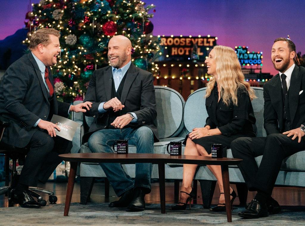John Travolta, The Late Late Show 2019