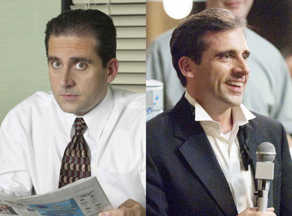 The Real Reason Why The Office Changed Michael Scott S Look E Online