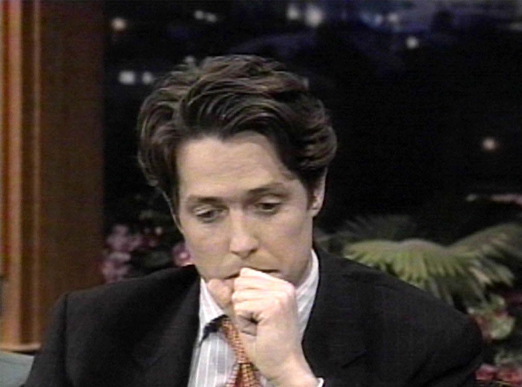 Hugh Grant, The Tonight Show with Jay Leno, 1995