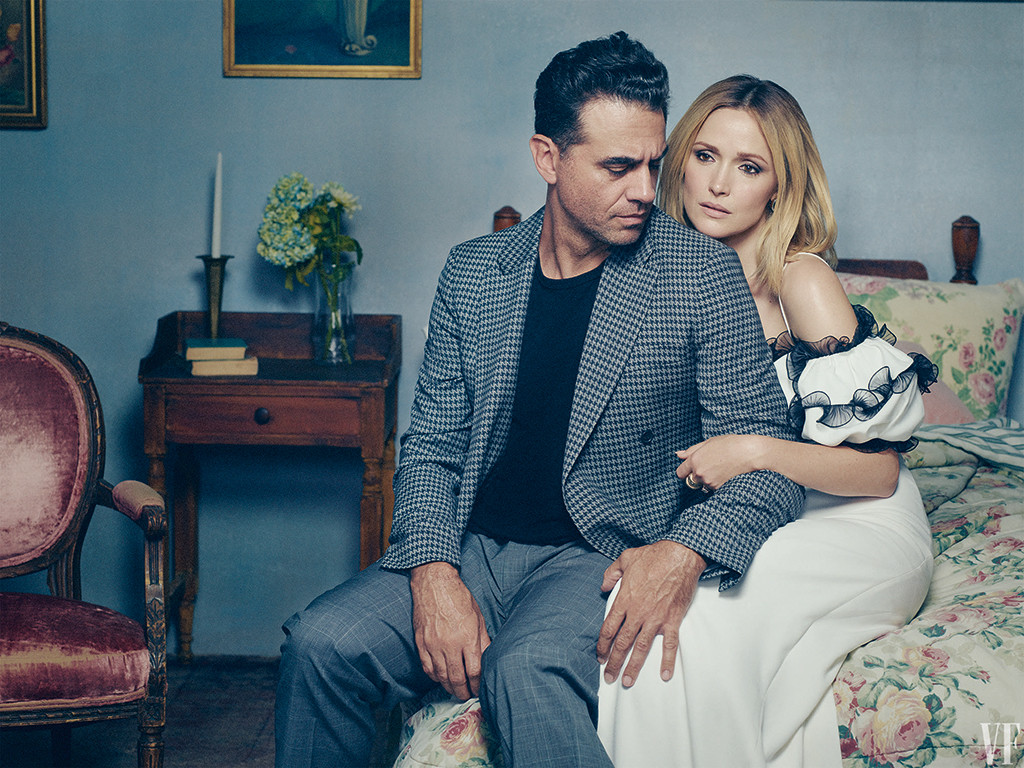 Bobby Cannavale, Rose Byrne, Vanity Fair Holiday 2019