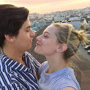 Lili Reinhart, Cole Sprouse, Valentine's Day