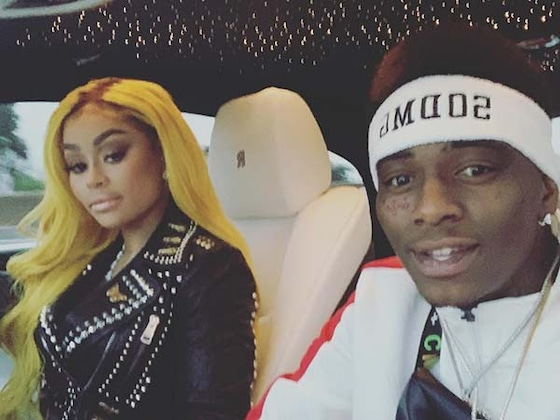 Blac Chyna and Soulja Boy Celebrate Their First Valentine's Day Together
